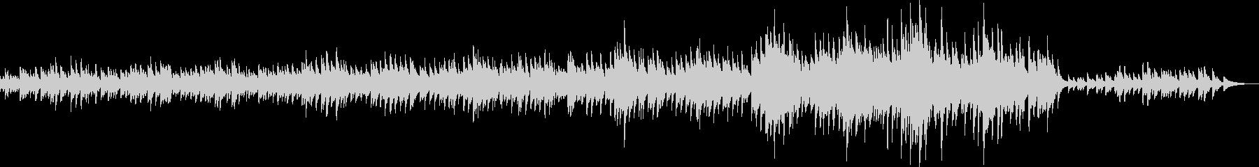 カノン風・優しいピアノバラード(優しい)の未再生の波形