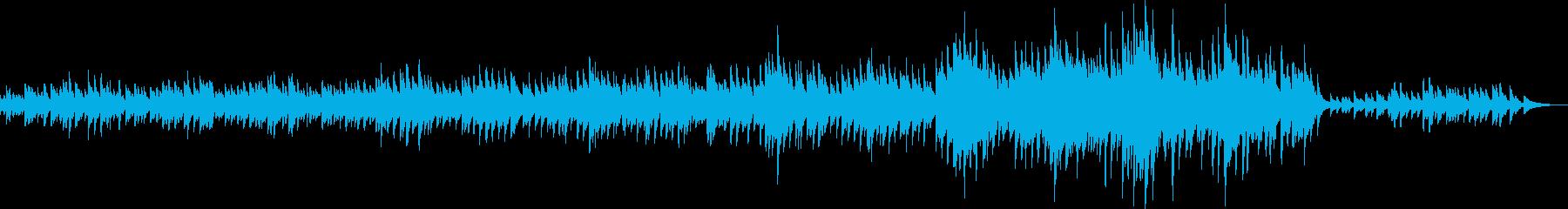 カノン風・優しいピアノバラード(優しい)の再生済みの波形