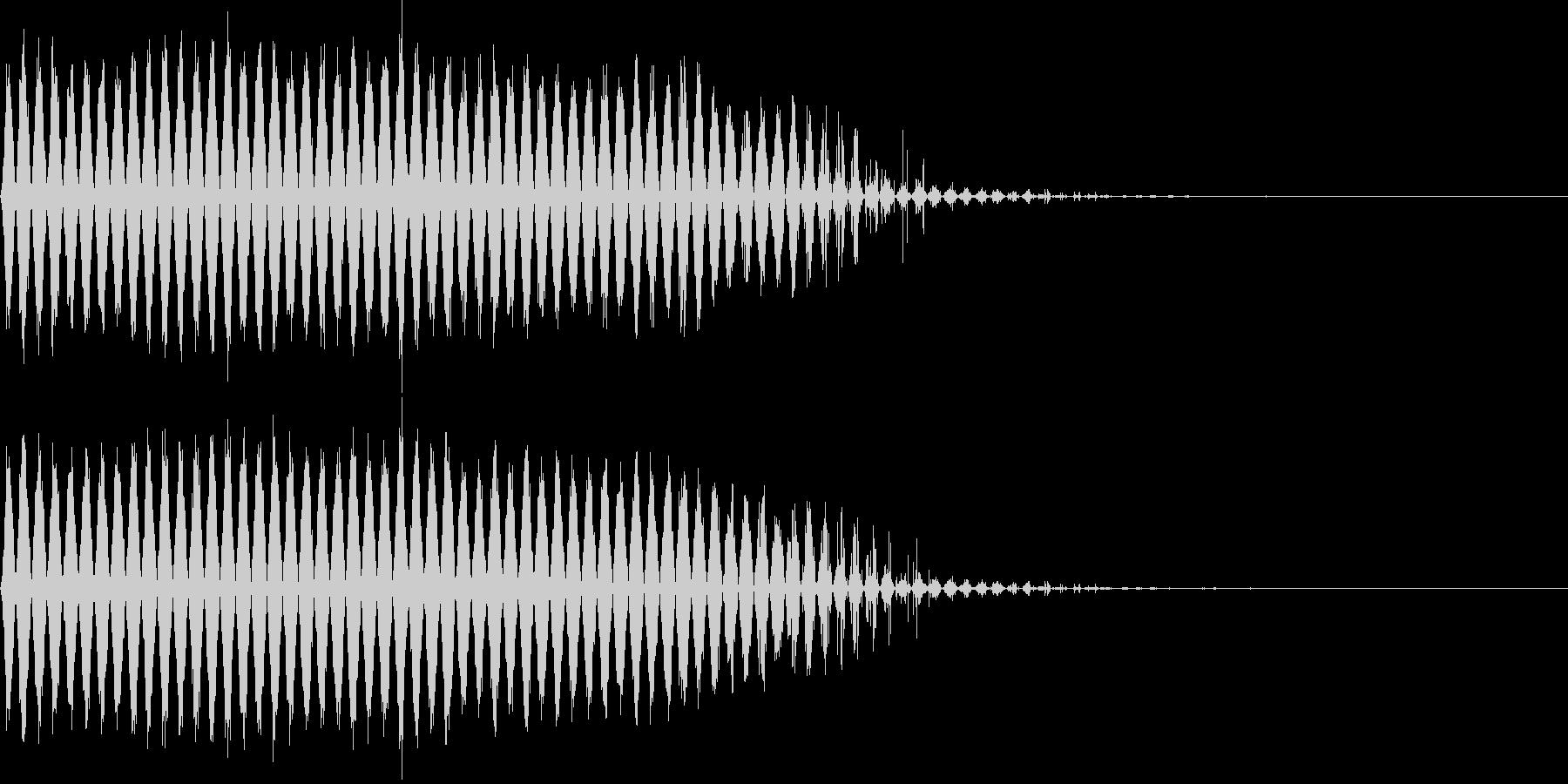 引き裂きスイーパー2の未再生の波形