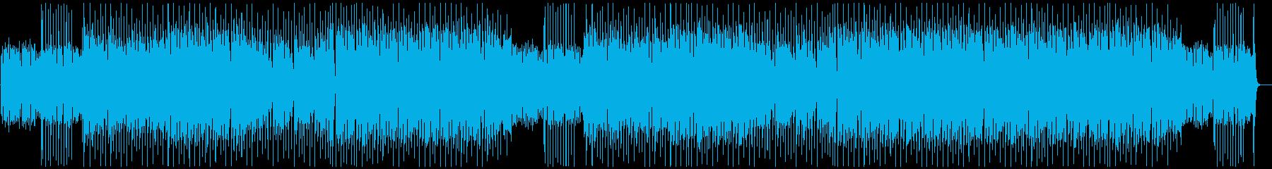 焦り・焦燥感 エレキギターの再生済みの波形