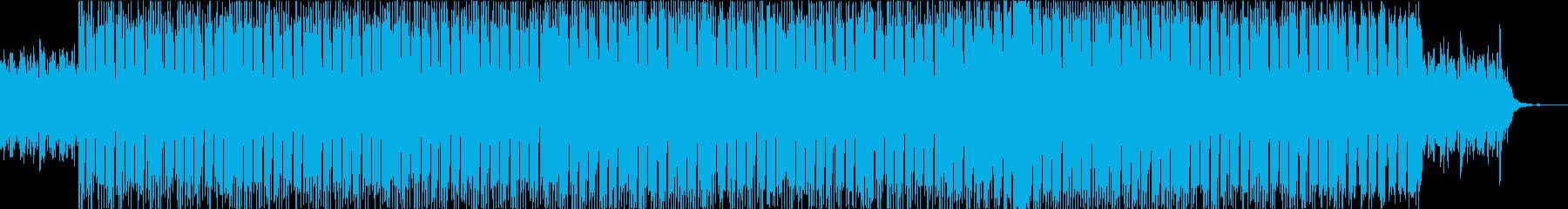 夜の静かな雰囲気を醸し出すローファイの再生済みの波形