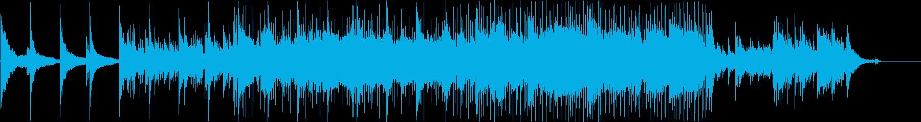 映像に最適なイージーリスニングの再生済みの波形