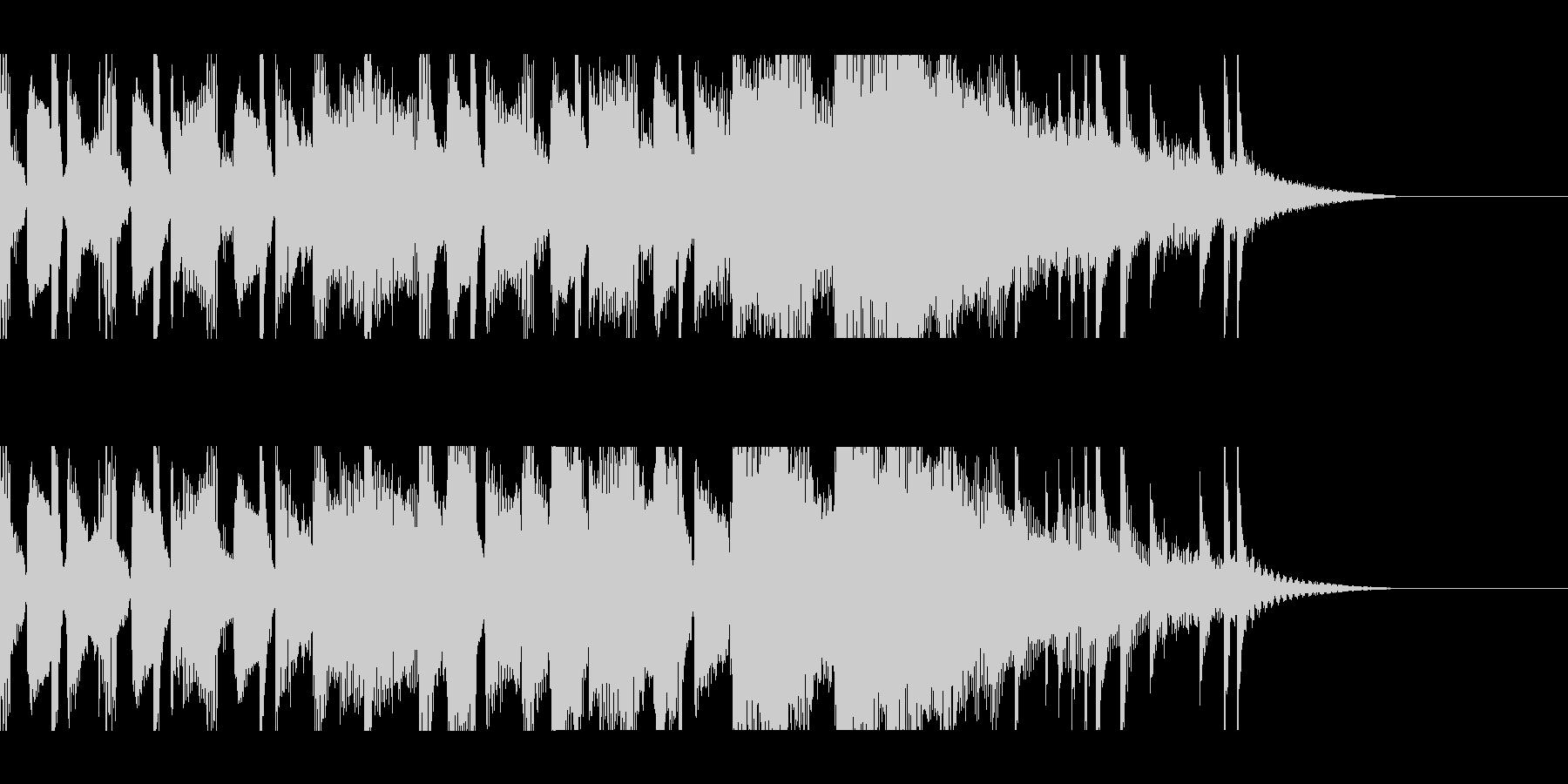 カントリー風ギターイントロ−03の未再生の波形