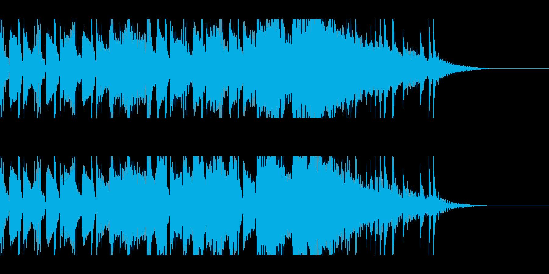 カントリー風ギターイントロ−03の再生済みの波形