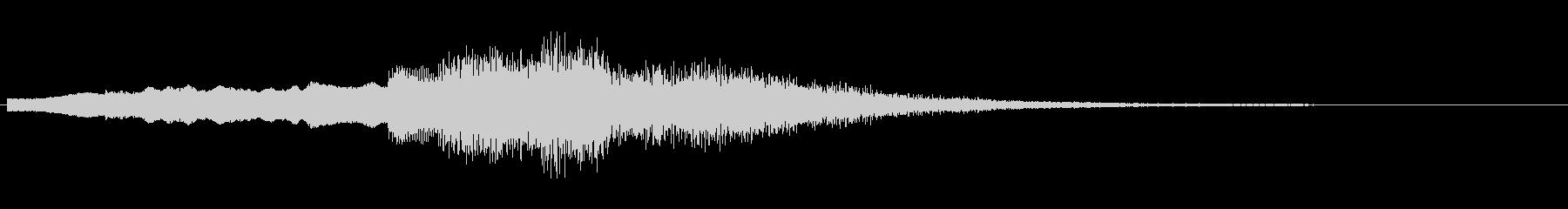 発散系サウンド+不思議の未再生の波形