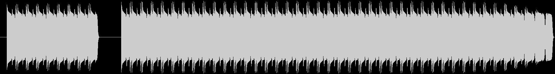 不正解音 ブブー (ブリブリ音)の未再生の波形