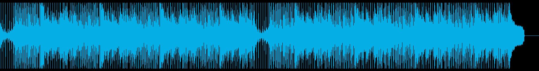 ポジティブで前向きな童謡アレンジの再生済みの波形