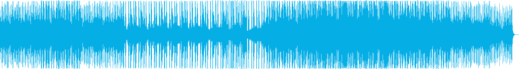 ゲームの戦闘、ダンジョンのBGMに最適の再生済みの波形