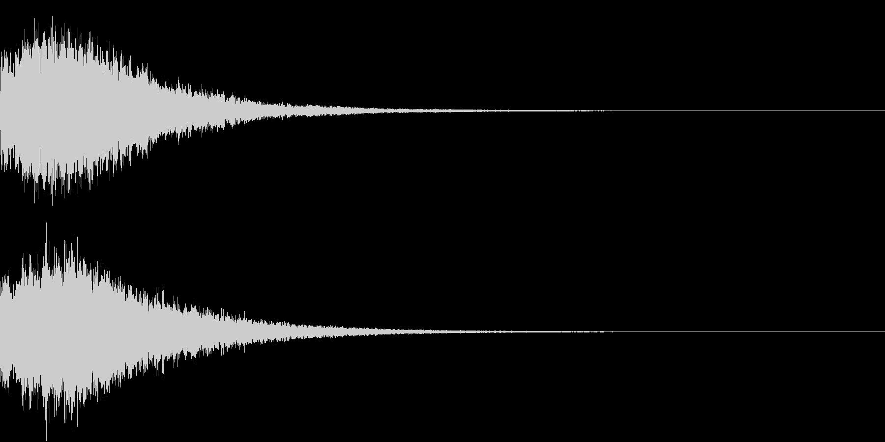 PAY 仮想通貨決済音 3の未再生の波形