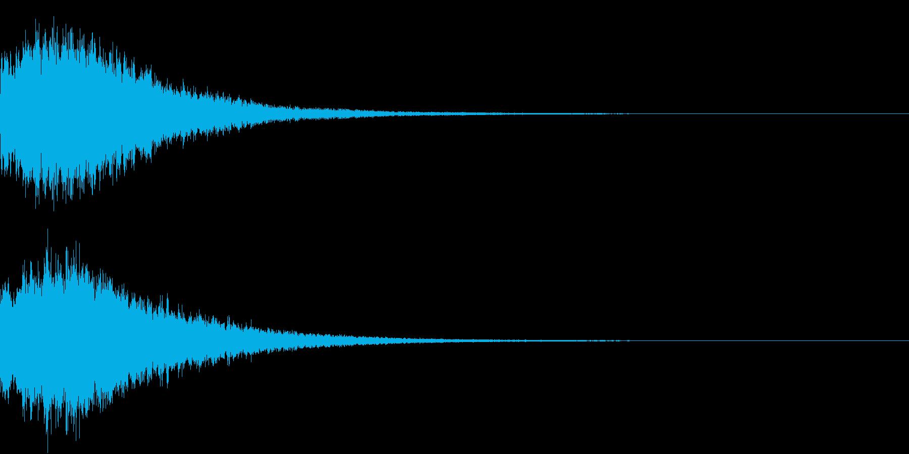 PAY 仮想通貨決済音 3の再生済みの波形
