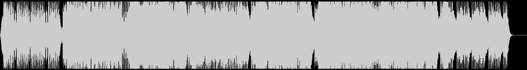 軽快なシンセの華やかなハウス CM・映像の未再生の波形