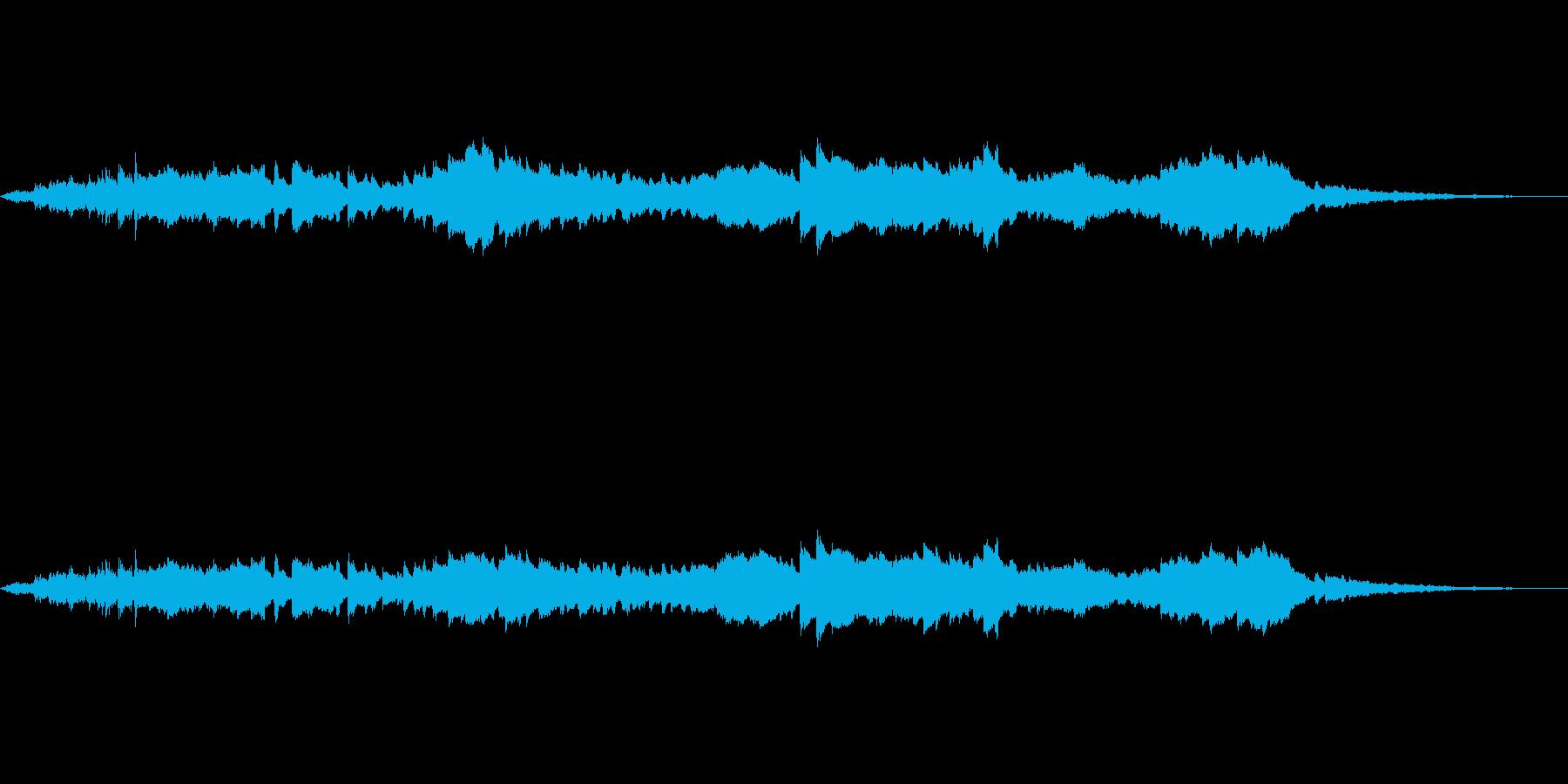 何かが擦れて転がるような効果音 の再生済みの波形