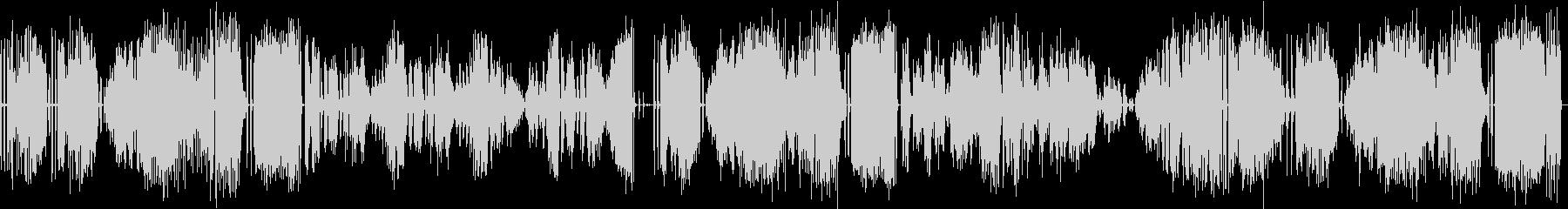 グランドピアノで演奏したクラシック曲の未再生の波形