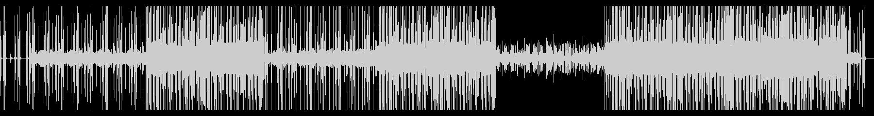 軽快なポップジャズフュージョンの未再生の波形