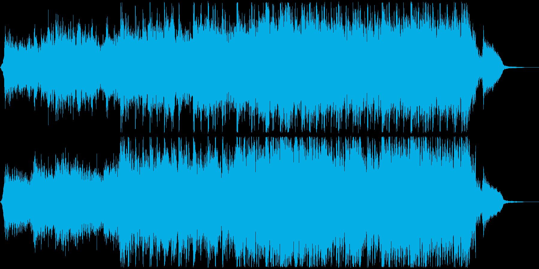 月光のようなピアノのシネマティック60秒の再生済みの波形