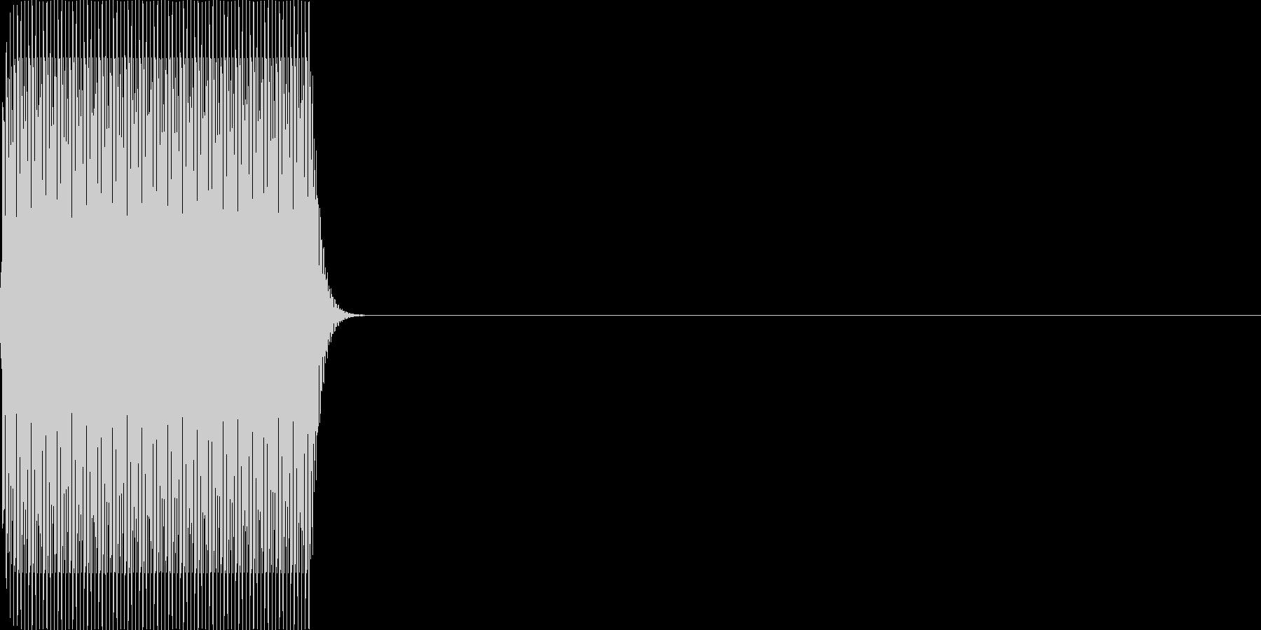 ピ(click_022_ボタン単音)の未再生の波形
