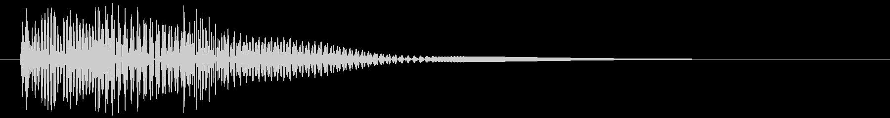 決定_タップ_クリック_200721の未再生の波形