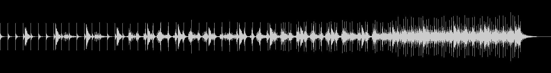 和風メロディーのコンテンポラリーBGMの未再生の波形