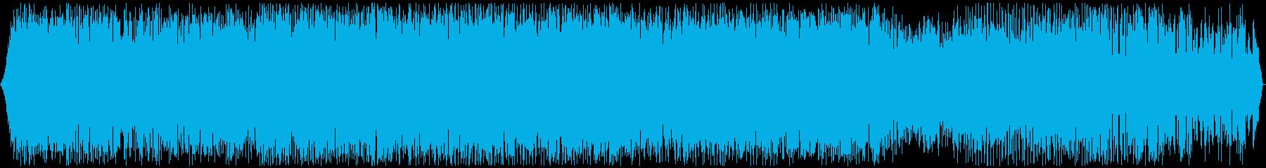 北海道音景色 夏夜の静寂・虫の声 その1の再生済みの波形