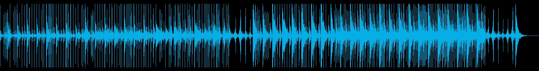 子供のおままごとのようなトイミュージックの再生済みの波形