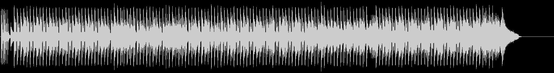 ほのぼのしたニューオリンズ・ジャズ風の曲の未再生の波形
