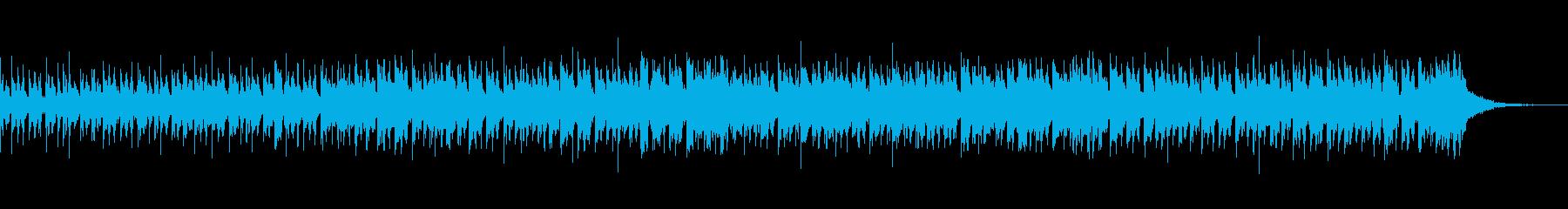激しく幻想的なテクノアンビエント 30秒の再生済みの波形