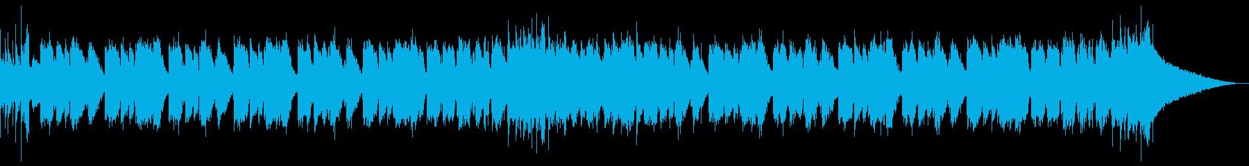 わくわくする夏の映像にぴったりなレゲエの再生済みの波形