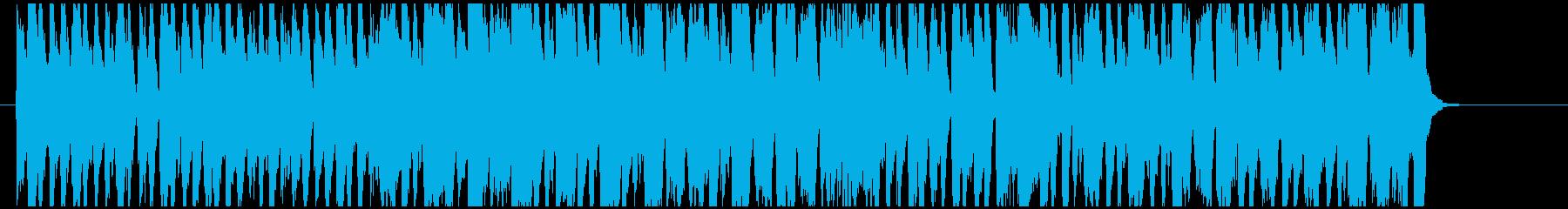 可愛いくて楽しい「猫ふんじゃった」の再生済みの波形