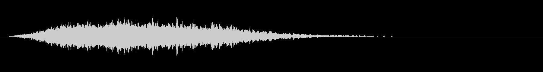 高弦楽器のアクセント-神秘的なの未再生の波形