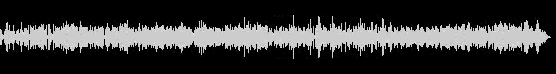サックスの明るく軽快なボサノバジャズの未再生の波形