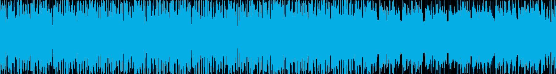 シンプル、お洒落、エレクトロ、LLの再生済みの波形