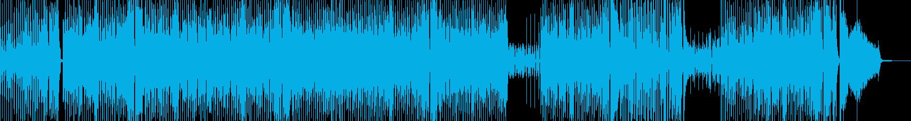 カートゥーン調のトランぺット&ジャズの再生済みの波形