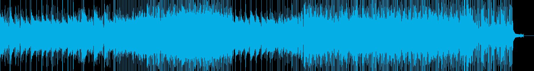 雨雲を抜けると青空の再生済みの波形
