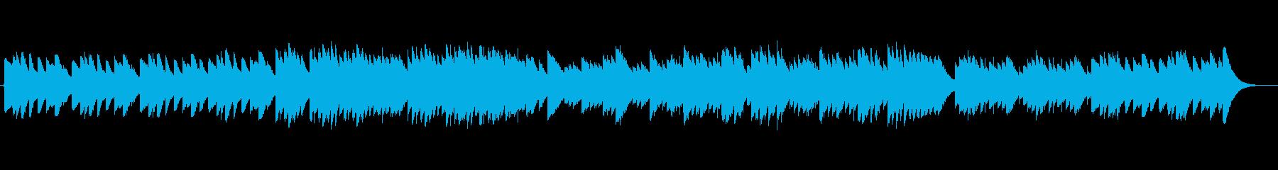 <オルゴール>爽やかな朝日を感じる音色の再生済みの波形
