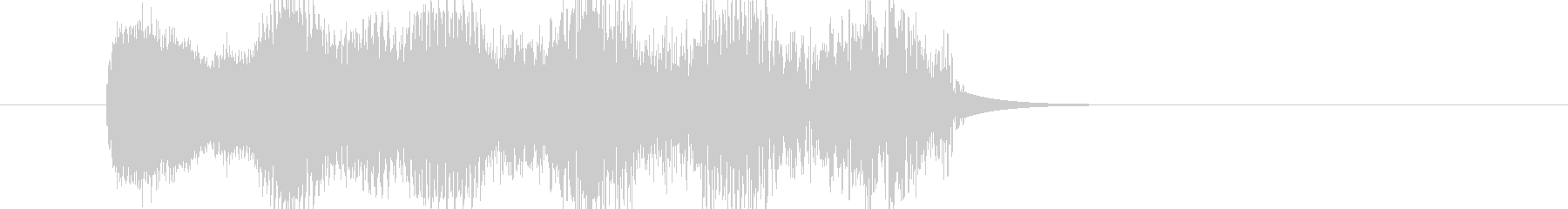 OLDIELASERバージョン6の未再生の波形