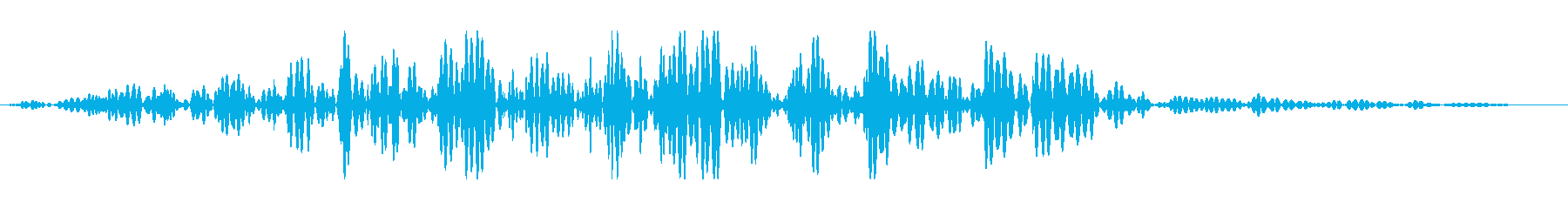 巨大な岩 ゴロゴロの再生済みの波形