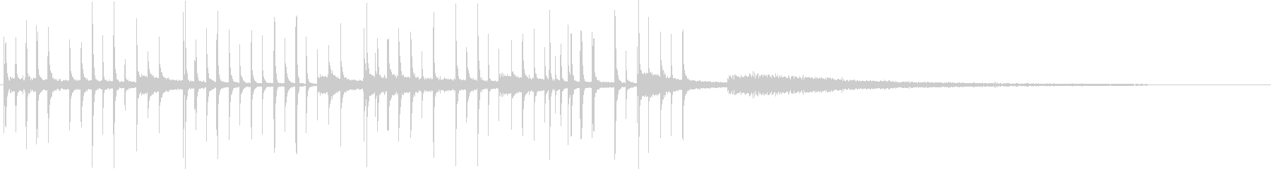 木琴メロディ:中華鍋:中世、コメデ...の未再生の波形