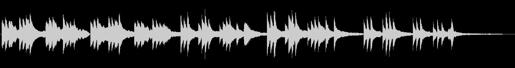 ピアノソロ・温かく優しいシンプルバラードの未再生の波形
