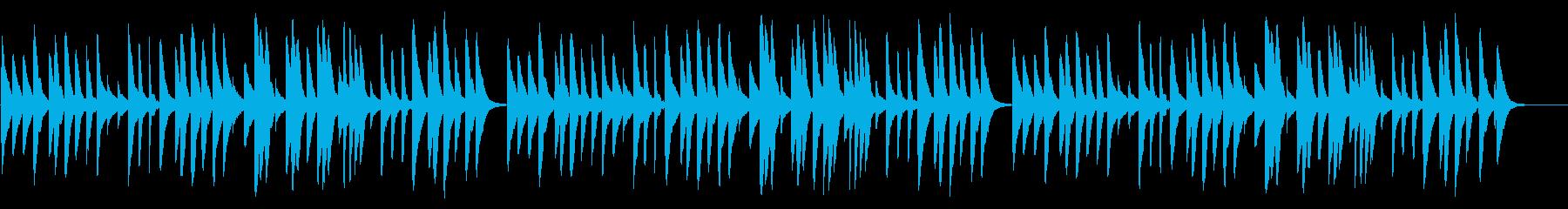 ふるさと 18弁オルゴールの再生済みの波形