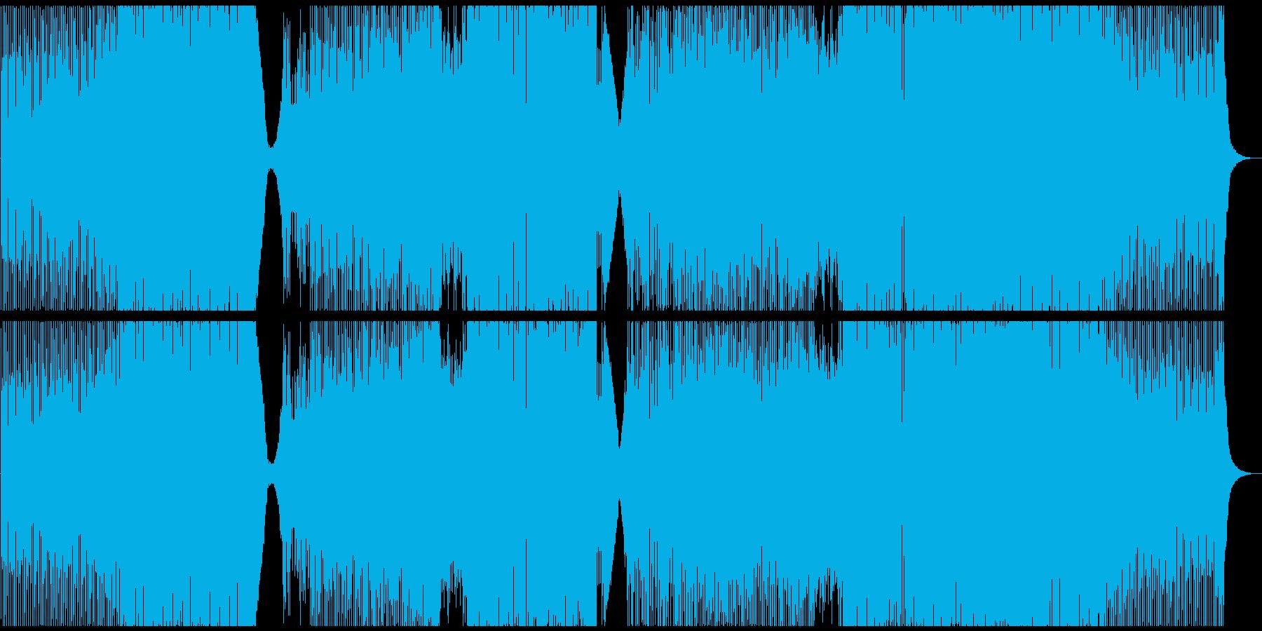 ハウス ダンス プログレッシブ ス...の再生済みの波形