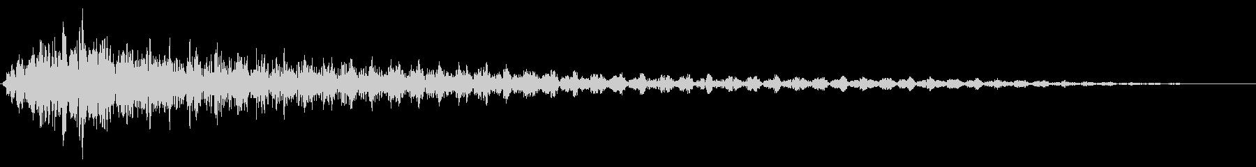 ホラー系アタック音52の未再生の波形