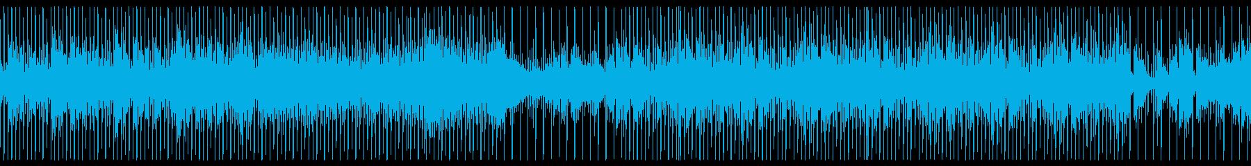 機械的で冷たいテクスチャーEDMの再生済みの波形