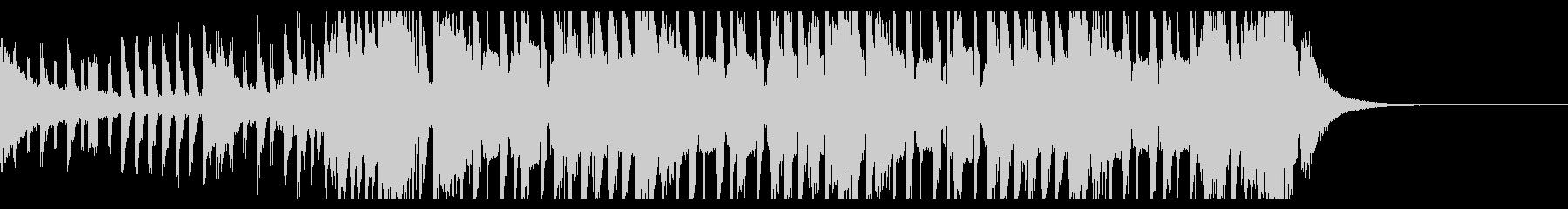 スポーツトラップの背景(30秒)の未再生の波形
