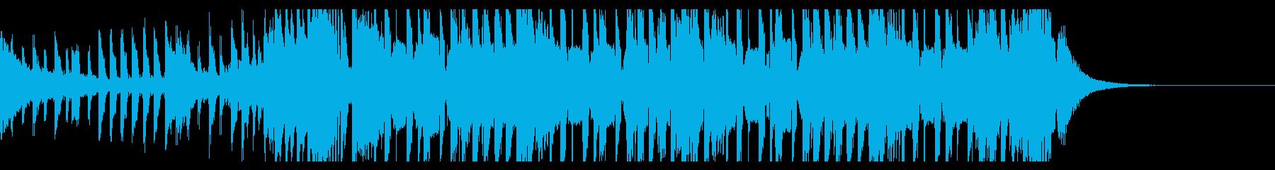 スポーツトラップの背景(30秒)の再生済みの波形