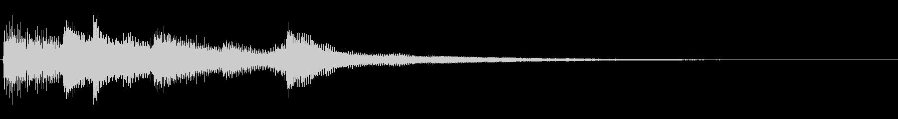 ピアノジングル03_dの未再生の波形