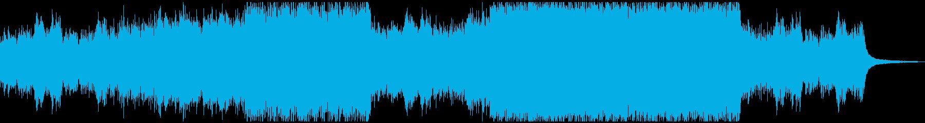 ピアノとオーケストラ行進曲風 エスニックの再生済みの波形