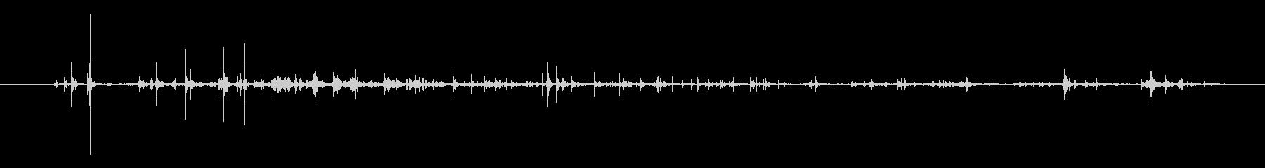 紙 トランプドロップ02の未再生の波形