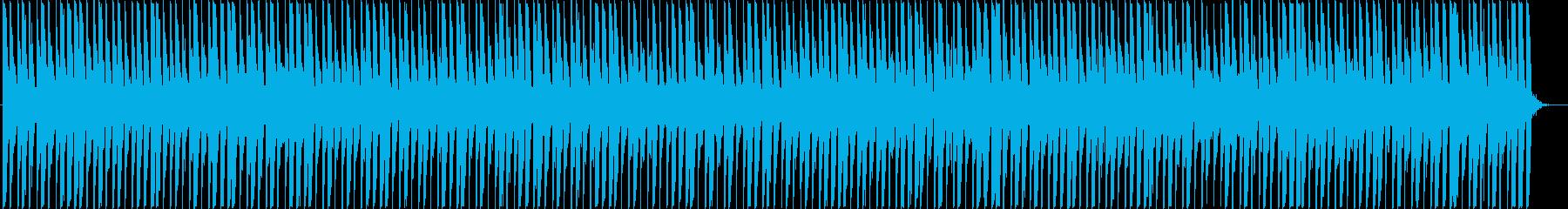 クールなアフロビートレゲエの再生済みの波形