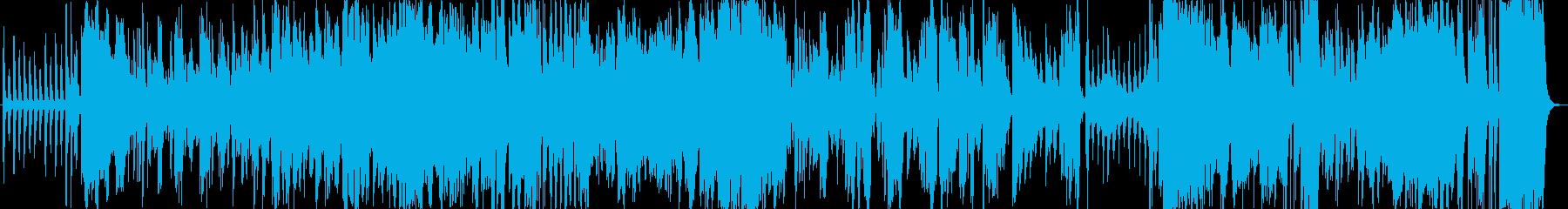 スローテンポでクラリネット入りのジャズの再生済みの波形