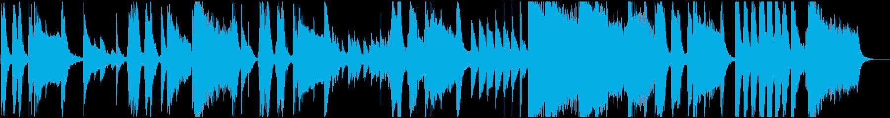 どろぼうの再生済みの波形